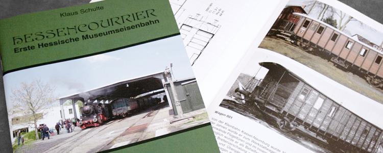 Hessencourrier - Eine Sammlung betriebsfähiger historischer Schienenfahrzeuge